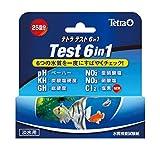 テトラテスト試験紙 6in1(淡水用)