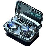 2021 Bluetooth イヤホン ワイヤレスイヤホン 最新Bluetooth 5.0+EDR搭載 Hi-Fi重低音 2200mAh充電ケース付き LEDディスプレイ電量表示 自動ペアリング ブルートゥース イヤホン IPX7防水 両耳 左右分離