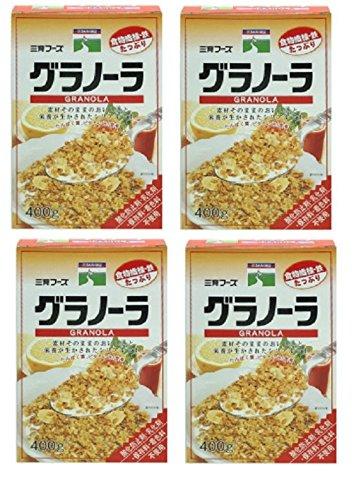 三育グラノーラ (1箱400g) (1箱400g×4箱)