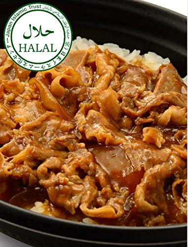 ロイヤル ハラル 牛丼(9食入) HALAL Gyudon(Beef Rice Bowl) (9meals)