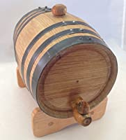 カスタム彫刻のエージングウイスキーオーク樽、・ラム、テキーラ、Bourbon、Scotch andワイン 2 liter ブラウン RHB
