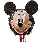 Amscan ミッキーマウスパーティー用引き紐ピニャータ