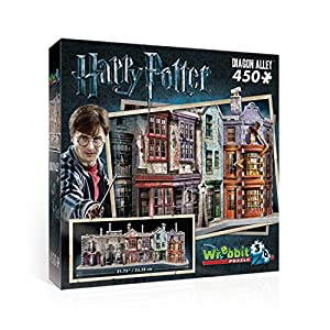 Winkelgasse/Diagon Alley - Harry Potter/ 3D-Puzzle 450 Teile