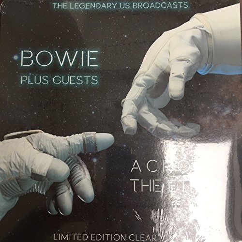 DAVID BOWIE AND HIS GUESTS - Across The Ether -The Legendary US Brodcasts - Clear Vinyl (1 LP)