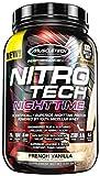 Nitro Tech(ニトロテック) ナイトタイムプロテイン フレンチバニラ 2.00 lbs (907 g)