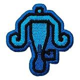 モンスターハンターライズ 2way刺繍ワッペン<ライトボウガン> 【オフィシャルライセンス商品】 グラフト ゲーミングライフ GGL042 ブルー