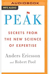 Peak: Secrets from the New Science of Expertise MP3 CD
