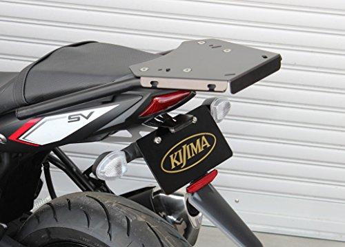 キジマ(Kijima) リアキャリア ブラック '16-SV650 210-239