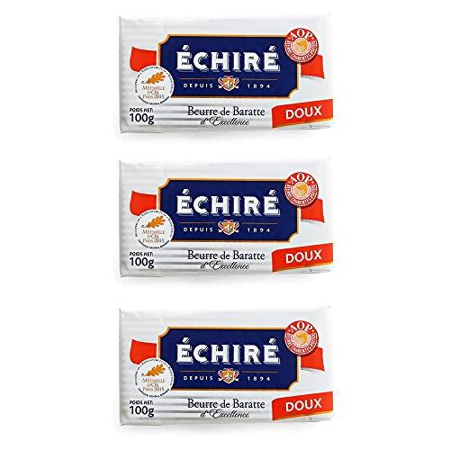 【100g×3個セット】フランス AOP 伝統 エシレ 無塩 発酵 バター