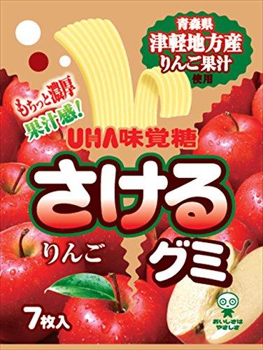 さけるグミ 津軽りんご 10袋