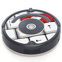 iRobot ルンバ Roomba 専用スキンシール ステッカー 527 530 537 560 577 620 621 622 630 650 対応 ラブリー ハート キーボード 002518