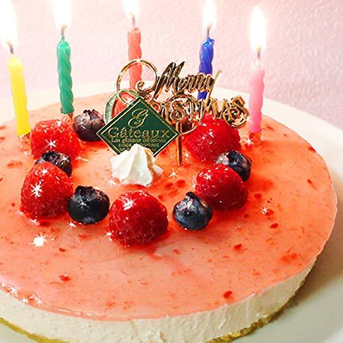 誕生日ケーキ 糖質70%カット 低糖質 ラズベリー チーズケーキ【キャンドル・誕生日プレート・手紙付】(糖質制限 フルーツケーキ 5号 砂糖不使用 低糖 スイーツ バースデーケーキ) (お届け日時指定可能)