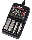 単3単4 ニッカド・ニッケル水素バッテリー専用 AC 急速充電器 NO-3361