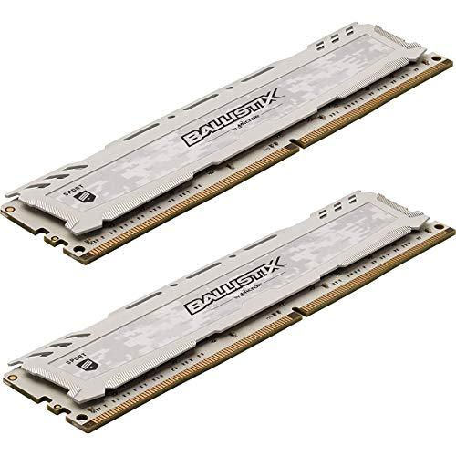 【2枚セット】Crucial ゲーミングモデル デスクトップメモリ PC4-21300(DDR4-2666) 8GB Ballistix Sport LT...