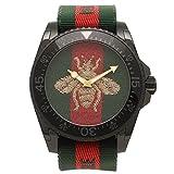 [グッチ] 腕時計 メンズ GUCCI YA136216 458987 I86P0 8766 グリーン レッド グリーンウェブ [並行輸入品]