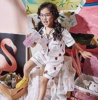 2018年子供服子供寝巻きパジャマ半袖パジャマ2点セットワンピース6色100-150