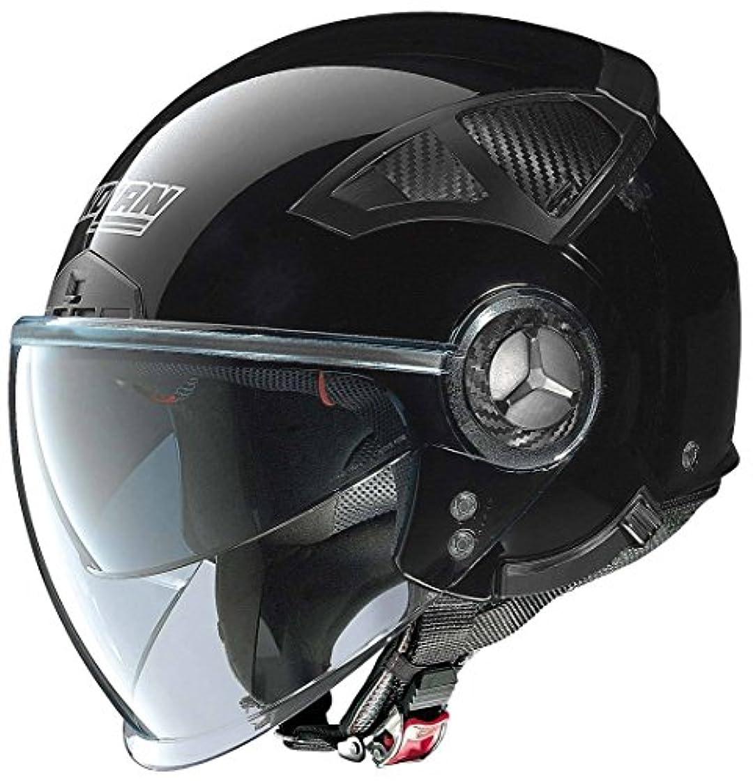 平等リーン面白いNolan ノーラン N33 Evo Classic Demi Helmet 2016モデル ヘルメット ブラック XL(61~62cm)