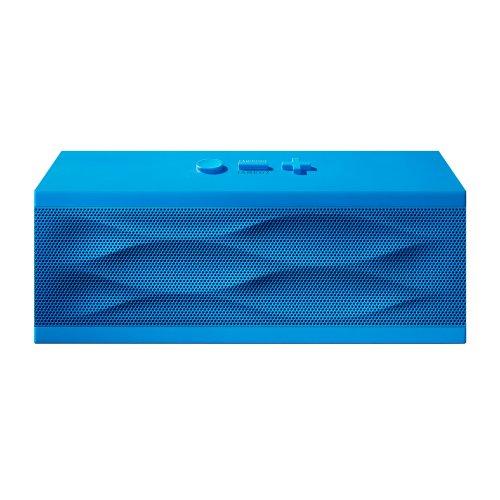 【日本正規代理店品】Jawbone JAMBOX ワイヤレス Bluetooth ポータブルスピーカー ブルーウェーブ  ALP-JAM-BW