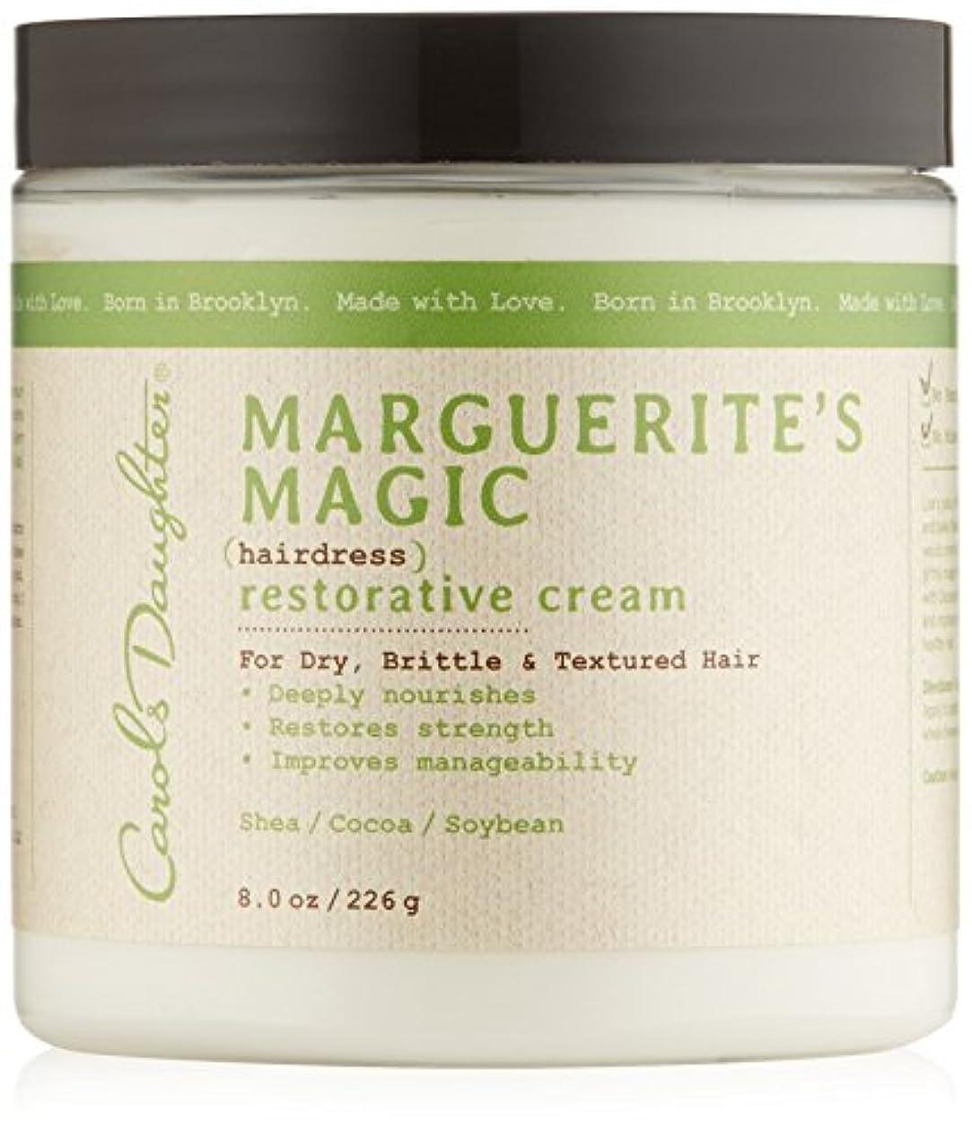 瞬時にベーリング海峡ナチュラルキャロルズドーター マルゲリーテス マジック ヘアドレス リストレーティブ クリーム (乾燥して切れやすい髪用) 226g/8oz