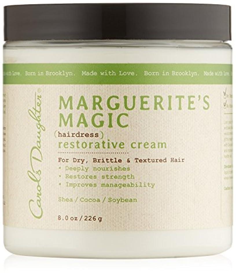 リング作ります有効キャロルズドーター マルゲリーテス マジック ヘアドレス リストレーティブ クリーム (乾燥して切れやすい髪用) 226g/8oz