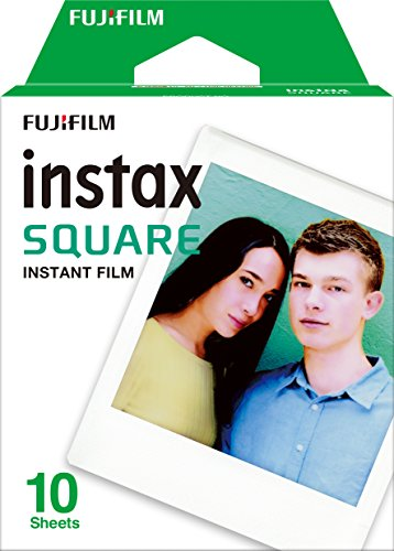 FUJIFILM 스퀘어 포맷 필름 instax SQUARE INSTAX SQUARE WW 1-Instax Square Film - 10 Exposures (2017-05-19)