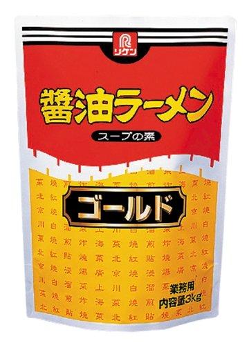 醤油ラーメンスープの素 ゴールド 3Kg