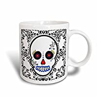 3dローズjanna salak designs day of the dead day of the deadスカル