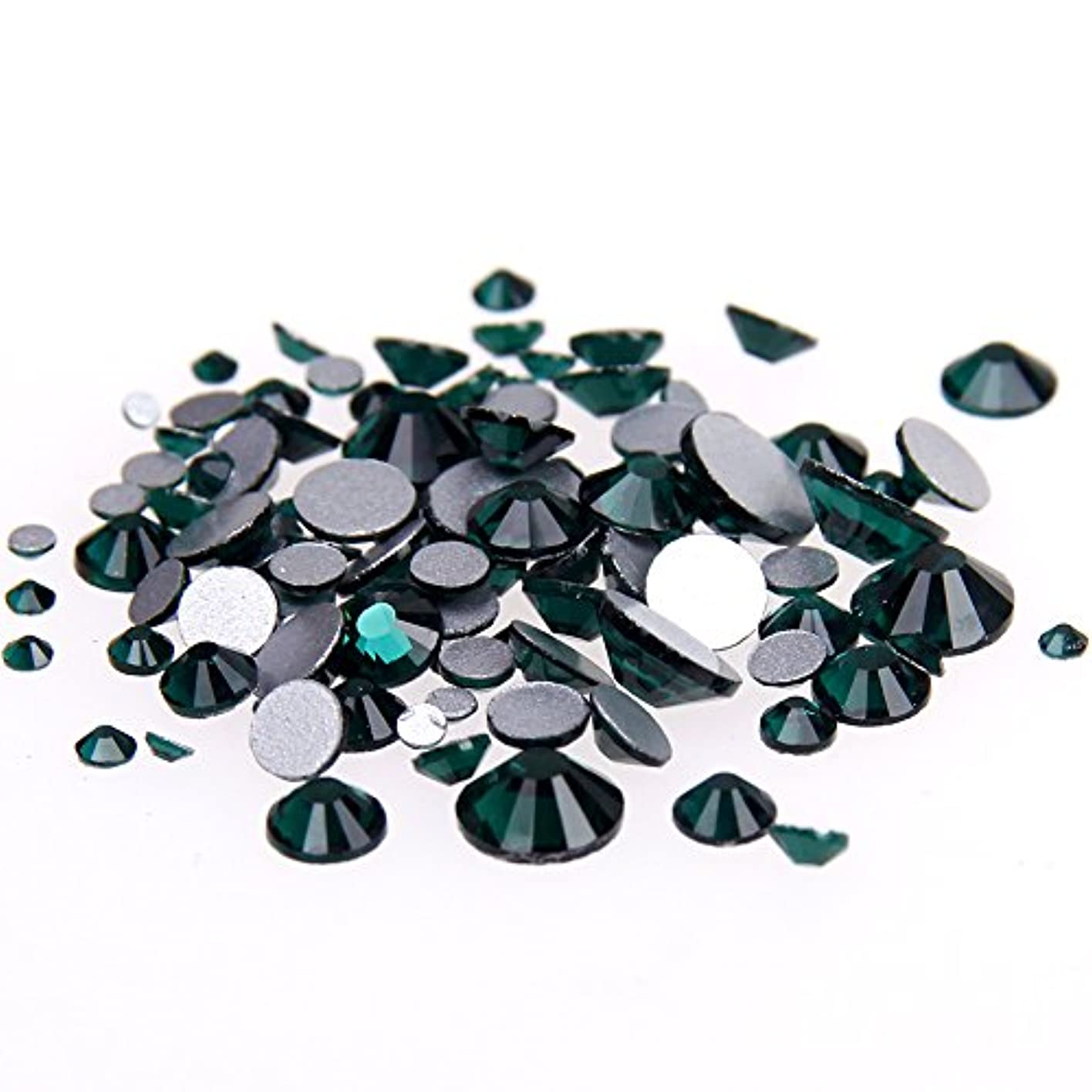 パリティ参加する火曜日Nizi ジュエリー ブランド エメラルド ラインストーン は ガラスの材質 ネイル使用 型番ss3-ss34 (SS20 1440pcs)