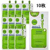 [メディヒール] Mediheal Teatree Care Solution Essential Mask EX メディヒールティーツリーケアソリューションエッセンシャルマスクEX 10枚 (24ml) [海外直送品]...