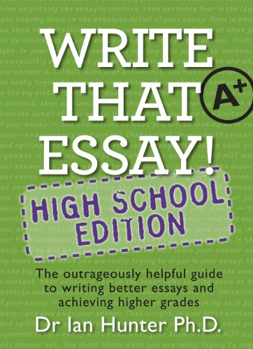 Download Write That Essay High School Edition (English Edition) B009D76P5K