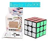 Z-Cube 磁石内蔵3x3x3キューブ ブラック ZCUBE Magnetic ブラック