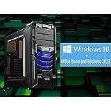 UフォレストPC フルスペックゲーミングデスクトップOffice搭載モデル【CPU Core i7/メモリ16GB/SSD120GB/HDD1TB/書き込み対応Blu-Ray搭載/GTX750Ti/Office2013/OS Windows10】(ブラック[Office搭載Win10単品モデル])