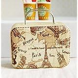 バービー 1/6 Barbie Blythe Size Map Doll Dollhouse Miniature Toy Trunk Box Suitcase Luggage Traveling Case