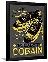 Kurt Cobain ( Obsceneコールto Myself ) 0X 0で 36 x 48 in ブラック