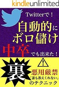 Twitterで自動的に稼ぐ[Twitter][不労所得][SNS][SNSマーケティング][起業][副業][営業][在宅][在宅起業][オンライン][オンラインビジネス]: 収入を増やそう
