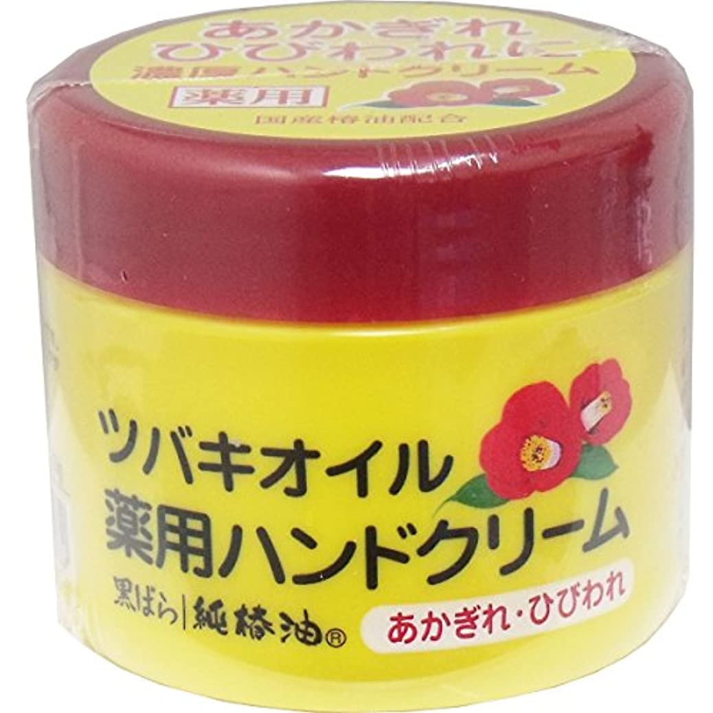 垂直抑止する頼る【まとめ買い】ツバキオイル 薬用ハンドクリーム ×2セット