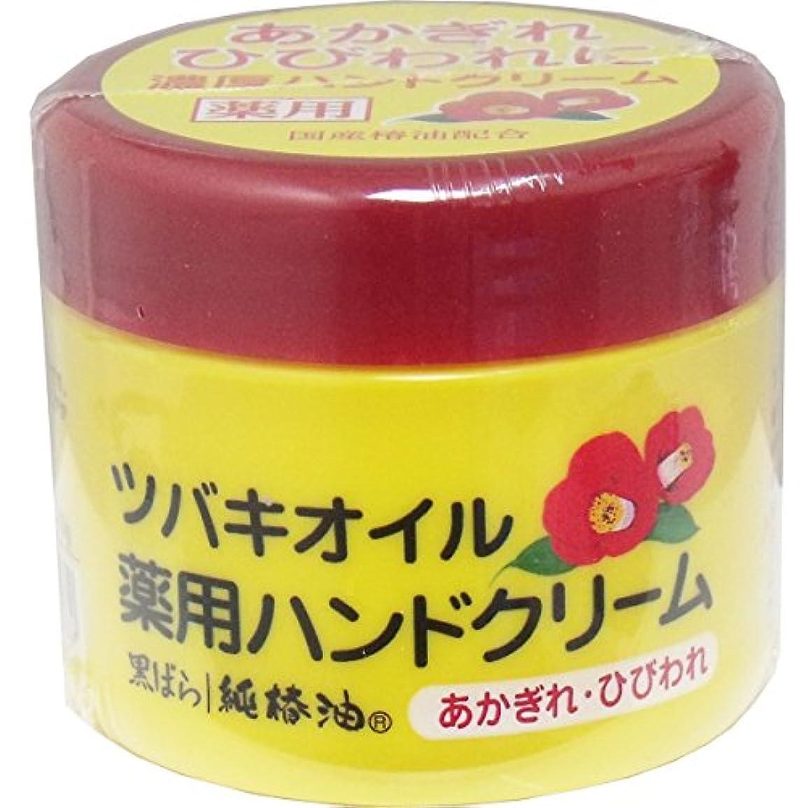 スリッパつかの間測る【セット品】ツバキオイル 薬用ハンドクリーム (医薬部外品) 80g ×3個
