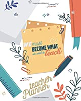 Lesson Planner for teachers: Weekly and Monthly Planner   Academic Year Lesson Plan and Record Book (2019-2020 Lesson Plan Books for Teachers)   8x10'', 160 pages
