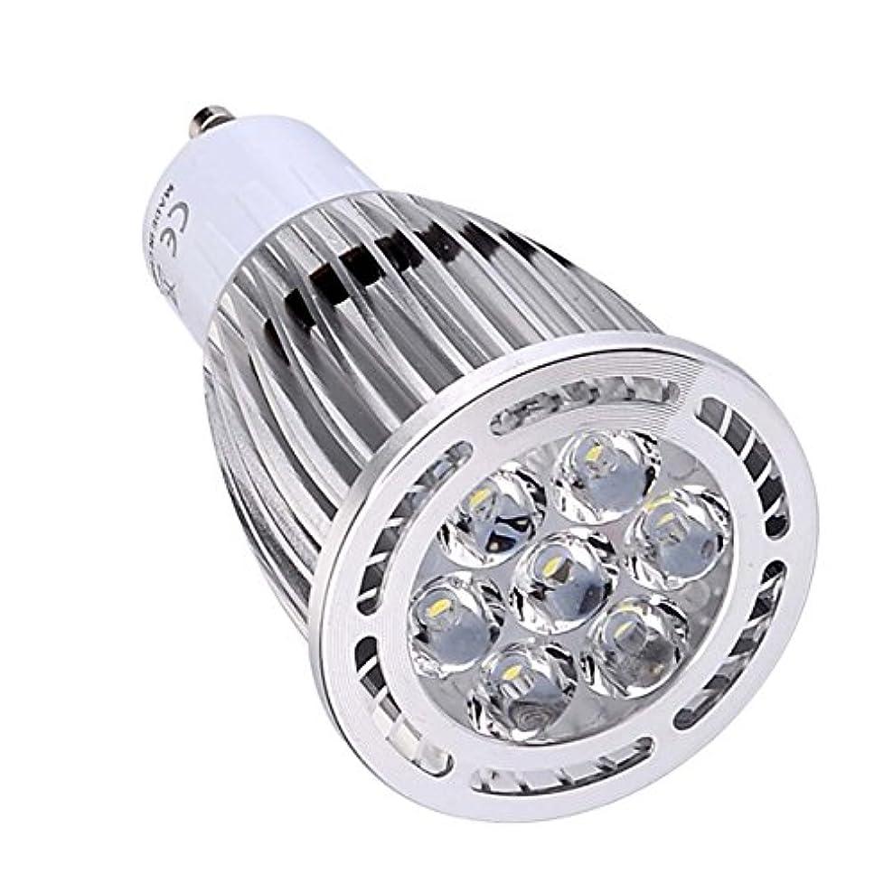 ようこそ作成者入場料BMY ホームLED電球、GU10 7W SMD 3030 600-700 LMウォームホワイト/クールホワイトクリアLEDスポットライトAC 85-265V AC 220-240V AC 110-130V(1個)電球(色:220-240V、サイズ:コールドホワイト)