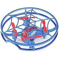 JJR/C H64高度保留GセンサーボイスプロンプトスパイダーミニRCドローンクアドコプターUAV子供用航空機子供用ギフト初心者おもちゃ(:青)