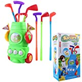 Best 幼児のためのボール - RuiyiF Golf Toy Set for Toddler Boys Girls Review