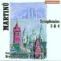 Martinu;Symphony No. 3 Symp