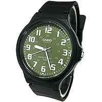 カシオ CASIO クオーツ ユニセックス 腕時計 MW-240-3BV グリーン/ホワイト[並行輸入品]