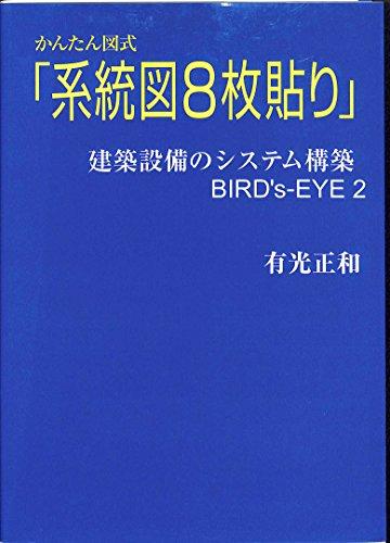 かんたん図式「系統図8枚貼り」―建築設備のシステム構築Bird'sーeye 2