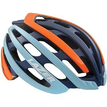 LAZER【レーザー】 Z1 ヘルメット (フラッシュオレンジ/ブルー, M)
