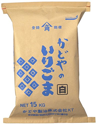 いりごま(白) 15kg