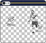 iPhone/Xperia/Galaxy/他機種選択可:サッカー/グラフィティ/へのへのもへじタッチ手帳ケース(デザイン:トッテナム/23番_01) 09 iPhone X