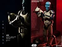 """Sideshow Star Wars The Clone Wars Cad Bane in Denal Disguise 1/6 Scale 12"""" Figure"""