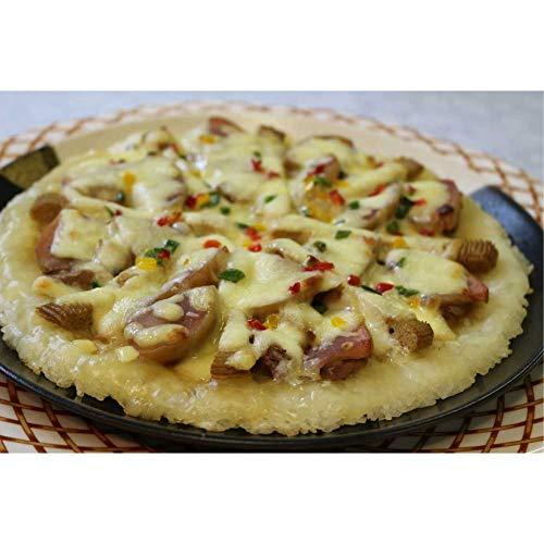 四季のテーブル ひゃくまん穀アッフルじぶライスピザ(AP-3 鴨・鶏)鶏肉・鴨肉セット 各小 直径11cm×3枚入 -クール冷凍-