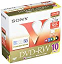 SONY ビデオ用DVD-RW 120分 1-2倍速 10枚パック 10DMW120GXT